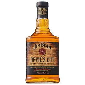 【送料無料】ジム ビーム デビルズカット 45度 [瓶] 700ml 送料無料(本州のみ) あす楽対応 [ウイスキー 43度 アメリカ サントリー] 母の日 父の日 ギフト