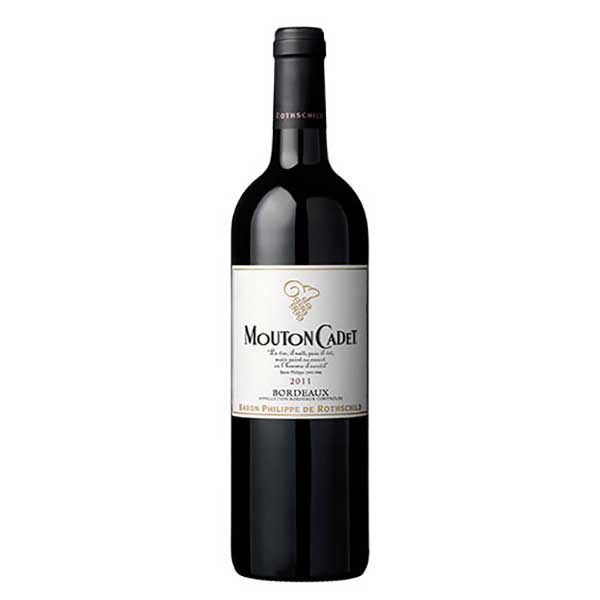 バロン フィリップ ド ロスチャイルド ムートン カデ ルージュ 750ml [フランス/赤ワイン/ボルドー]