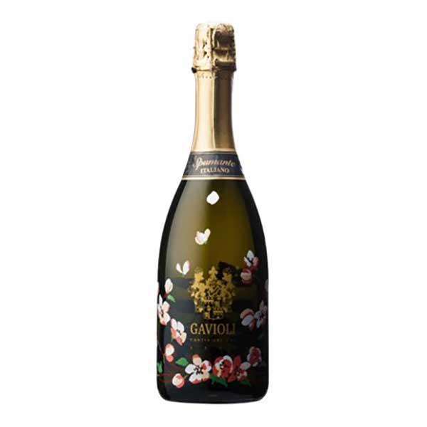 ガヴィオリ スプマンテ エクストラドライ フラワーボトル 750ml [モンテ/イタリア/エミリア・ロマーニャ/スパークリングワイン/006909]