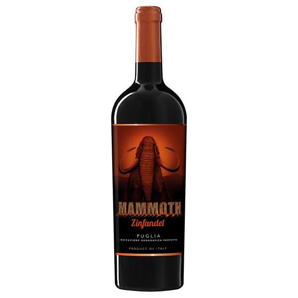 マーレ マンニュム マンモス ジンファンデル 750ml [イタリア/プーリア/赤ワイン027534]