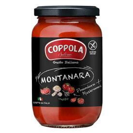 コッポラ モンタナーラ ソース [瓶] 350g x 12本[ケース販売] 送料無料※(本州のみ) [メモス/食品/イタリア/トマト製品/632-803]【キャンセル・返品不可】