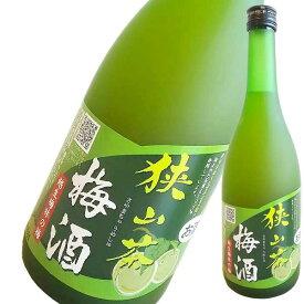 狭山茶梅酒 720ml [麻原酒造/埼玉県] 果実酒