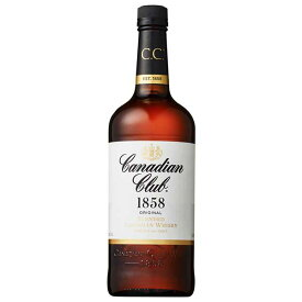 カナディアンクラブ 40度 [瓶] 1L 1000ml x 12本[ケース販売][ウイスキー/40度/カナダ/サントリー]
