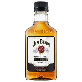 【送料無料】ジム ビーム 40度 [PET] 200ml 送料無料(本州のみ)[ウイスキー 40度 アメリカ サントリー] 母の日 父の日 ギフト