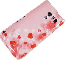 ソフトケース まるっと印刷 003 ハート色の夢 AQUOS PHONE EX SH-04E/Xperia UL SOL22/iPhone5s/iPhone5/GALAXY S4 SC-04E 等