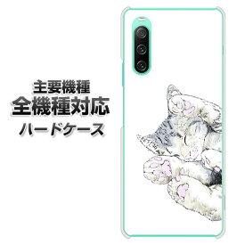 ハードケース 全機種対応 スマホカバー スマホケース 【YJ261 アメリカンショートヘア 猫 素材 クリアケース 】 アイフォンxr Xperia XZ XZs XZ3 XZ2 XZ1 AQUOS sense2 アクオスセンス2 AQUOS R2 iPhone8 iPhone7 ギャラクシーS9 iPhoneX galaxy