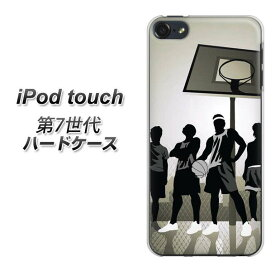 ipod touch 第7世代 ipod touch7 ハードケース カバー 【389 ストリートバスケ 素材クリア】