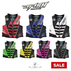 【SALE】【JFISH】J-FISH EVOLUTION LIFE VEST ジェイフィッシュ ライフジャケット JLV391