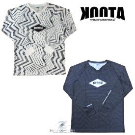 【送料無料】【2019新作】【QUAKYSENSE】【KOOTA】KOOTA BEAT COOL SHIRTS LONG クエイキーセンス クータ クールシャツ 長袖 BCL519