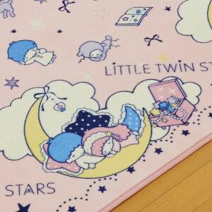 【Sanrio/サンリオ】キキラララグ185×185[SB-265]【送料無料(一部地域を除く)】