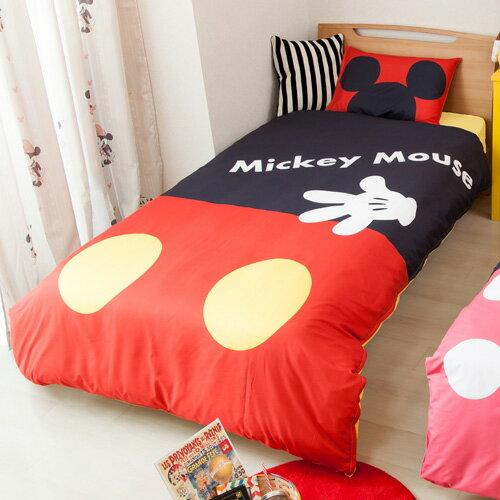 ミッキーPOP絵羽カバー3点セット [SB-237]【Disneyzone Disney/ディズニー】micky walt disney minnie micky mouse 寝具カバー 和式シーツ 敷布団カバー 洋式シーツ かわいい ベッドシーツ 枕カバー