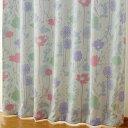 ミッキー 2級遮光カ−テン/フラワ−シルエット2枚セット幅100×178〜200cm丈【Disneyzone Disney/ディズニー】[SB-239…