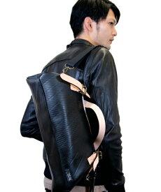 【P5倍 6/26 1:59まで】 ボストンバッグ メンズ SEAL シール 大型 旅行 防水 廃タイヤ タイヤチューブ 人気 日本製 黒 プレゼント