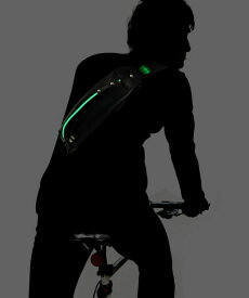 【P5倍 5/9 20:00〜】 ボディバッグ ナイトライドモデル メンズ SEAL シール バッグ ボディバッグ 防水・耐水 廃タイヤ タイヤチューブ 人気 日本製 黒 プレゼント あす楽 父の日