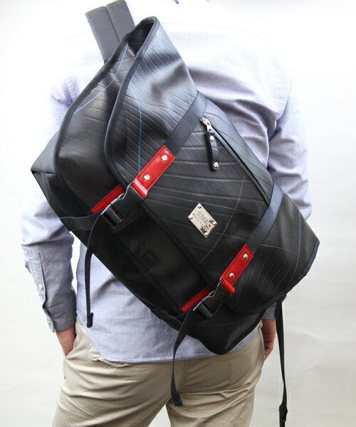 【イベント開催中】 デザイナーズ メッセンジャーバッグ メンズ SEAL シール バッグ ショルダーバッグ メッセンジャーバッグ 防水・耐水 廃タイヤ 人気 日本製 黒 プレゼント