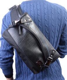 ショルダーバッグ 防水 デザイナーズ ウエストバッグ メンズ SEAL シール ブランド ショルダーバッグ 防水 耐水 廃タイヤ タイヤチューブ 人気 日本製 黒 プレゼント