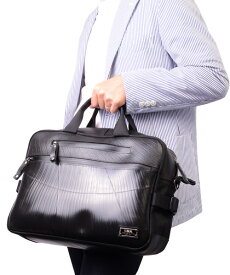 【P5倍 6/29まで】 スリング ビジネスバッグ メンズ SEAL シール バッグ ブリーフケース ビジネスバッグ 防水・耐水 廃タイヤ タイヤチューブ 人気 日本製 黒 プレゼント