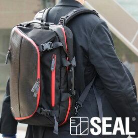 バックパック エクスパンダブル SEAL シール リュック 通学 大容量 防水 バックパック 廃タイヤ タイヤチューブ 軽量 日本製 黒 プレゼント