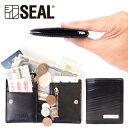 【P10倍 12/15だけ】 スマートウォレット メンズ 二つ折り 財布 コインケース SEAL シール 財布 防水 廃タイヤ タイヤチューブ 人気 日本製 黒 プレゼント