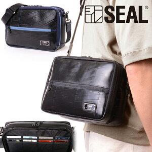 【P10倍 5/15限定】 トラベル ショルダー ウォレット SEAL シール バッグ ショルダーバッグ 防水 耐水 廃タイヤ タイヤチューブ 人気 日本製 メンズ プレゼント 父の日