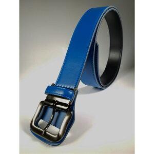 《ロング 大きい サイズ》SeaLand 野球 ベルト サイズ130cmまで:幅40mm 【ブルー】 日本製