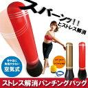 【あす楽】ストレス解消パンチングバッグ エアーポンプ付き(エクササイズ/ダイエット/体幹)