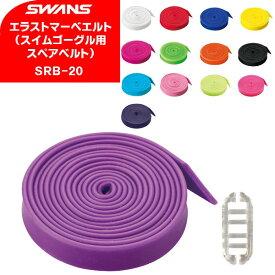 (パケット便200円可能)SWANS(スワンズ)エラストマーベルトSRB-20(ゴーグルパーツ/替えベルト)