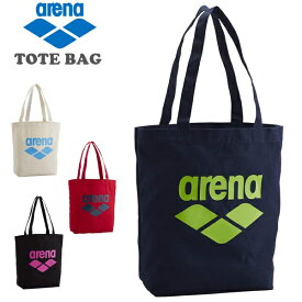 arena(アリーナ) コットン トートバッグ AEAOJA51 スイミングフィットネス エコバッグ ショルダーバッグ 手提げ (パケット便送料無料)