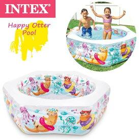 INTEX(インテックス) ハッピー オッター プール 564933 水遊び 自粛 アウトドア 屋外 お庭 ベランダ