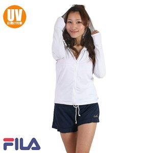 【あす楽】FILA(フィラ)ロゴラッシュパーカ(UVカット)221773f(パケット便送料無料)
