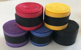 [sealche]太鼓 達人マイバチ用グリップテープ【5色セット】 5色セット(ブラック・ブルー・イエロー・パープル・レッド)太鼓の達人であるランカー必見