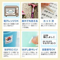 安心の日本製/カット済/屋外でも使える/電子レンジOK/食洗機OK/えらべるシート/400デザイン