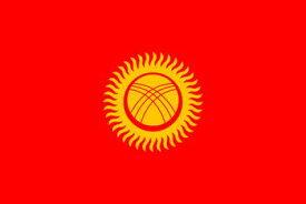 国旗タトゥーシリーズ キルギス