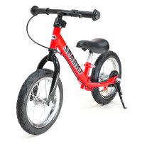 【組立済】【4色から選べる】ブレーキ付ゴムタイヤ装備ペダルなし自転車キッズバイクSPARKYバランスバイク足けり乗用足こぎ自転車トレーニングバイクキックバイク三輪車