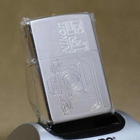 1996年製未使用品Zippo/ジッポーライター Nikon/F5発売記念限定Zippo