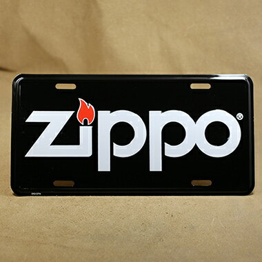 Zippo カーライセンスプレート