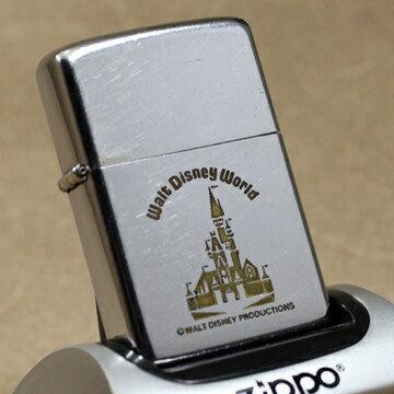 1974年製Zippo ディズニー:Walt Disney World