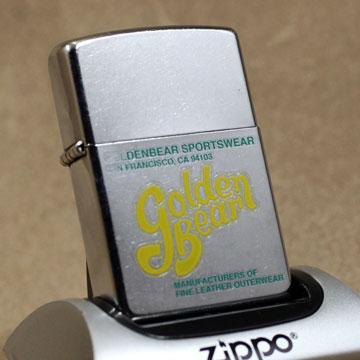2002年製Zippo Golden Bear プレミアム
