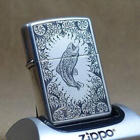 1996年製未使用品Zippo Simon.M.Lyton氏手彫彫刻/スターリングシルバー