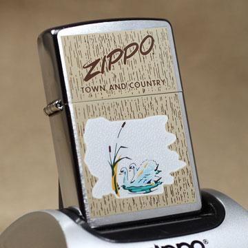 2004年製Zippo TOWN AND COUNTRY