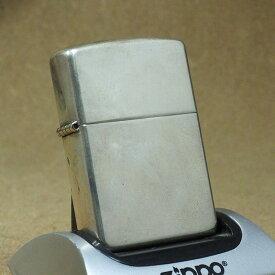 2002年製 未使用 Zippo 無地スタンダード スターリングシーバー No.15
