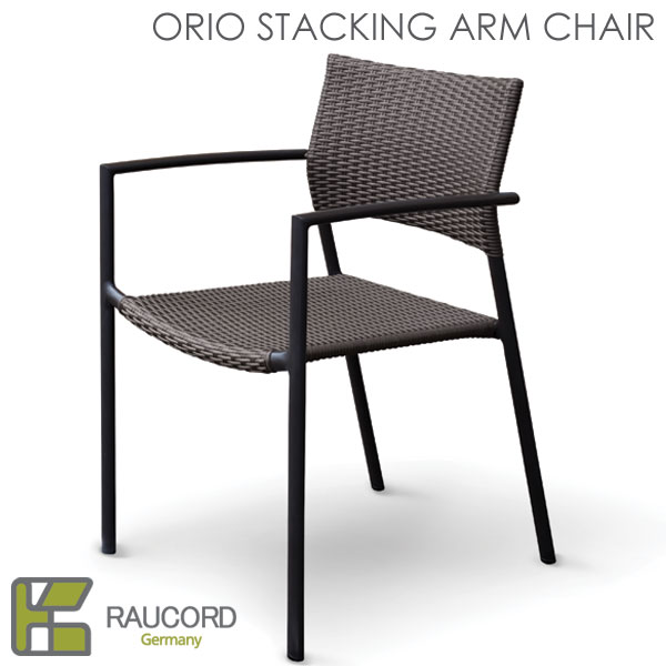 【K.RAUCORD】ORIO STACKING ARM CHAIR (オリオスタッキングアームチェアー)(専用クッション別売)