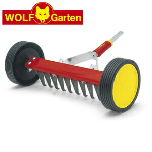 【WOLF Garten】Scarifying Roller Rake(ローラー式芝生清掃レーキ)※ハンドル別売り【multi-star mini Garden tools】シリーズ