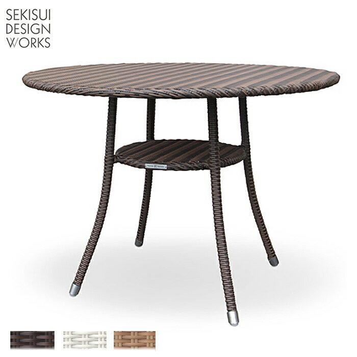 【K.RAUCORD】AMALFI DINING TABLE・アマルフィダイニングテーブル(Lサイズ・直径1000mm)