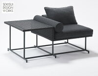 MASeriesMA-ソファ・シングル・サイドテーブル付メイン画像