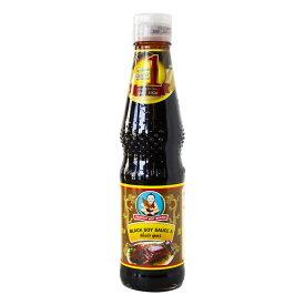 ブラック ソイソース 410g シーユーカオ タイ料理 調味料 タイの煮物料理には欠かせません 甘口醤油 黒蜜に似た風味 【8850206251568】