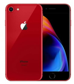 新品●【未使用品】 国内版 SIMフリー (Apple Store版) iPhone 8 64GB レッド Apple整備品 送料無料