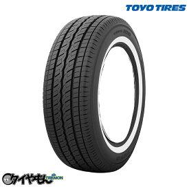 サマータイヤ ホワイトリボン トーヨータイヤ H20 215/70R15 新品タイヤ 4本セット価格 109/107S 215/70-15