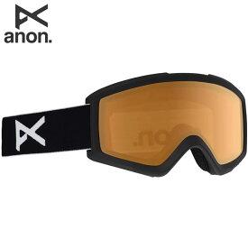 20-21 ANON ゴーグル anon. Helix 2.0 18528100: Black / Amber 国内正規品/アノン/スノーボード/スキー/メンズ/snow/スノボ