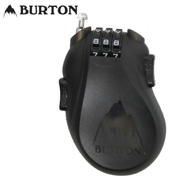 [全品5倍! 18日18時〜22日0時迄]18-19 BURTON ケーブルロック Cable Lock 10802102: Translucent Black 正規品/カギ/鍵/ワイヤー/バートン/スノーボード/snow/2017/スノボ